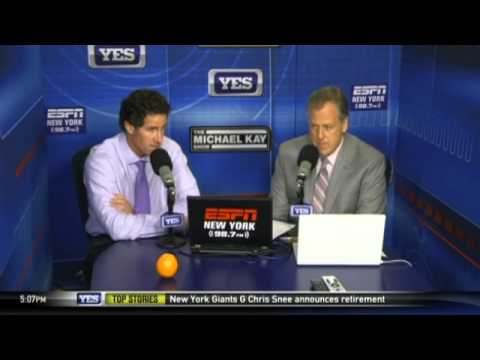 Video: Paul O'Neill joins Michael Kay in studio to talk Yankees - The Michael Kay Show