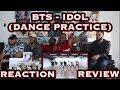 Download Lagu CHOREOGRAPHY BTS 방탄소년단 'IDOL' Dance Practice REACTIONREVIEW Mp3 Free