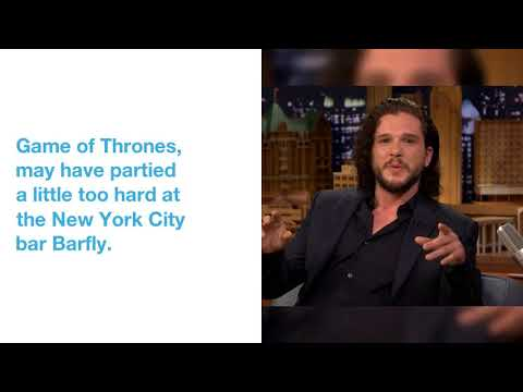 Game of Thrones' Kit Harington May Have Partied Too Hard at Bar