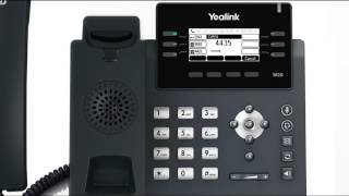 T41P/T42G IP Phone - Placing and Answering Calls