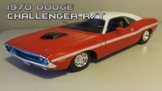 Maisto 1:24 1970 Dodge Challenger R/T Review