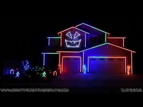 Halloween Light Show 2014 - Rude (Magic)