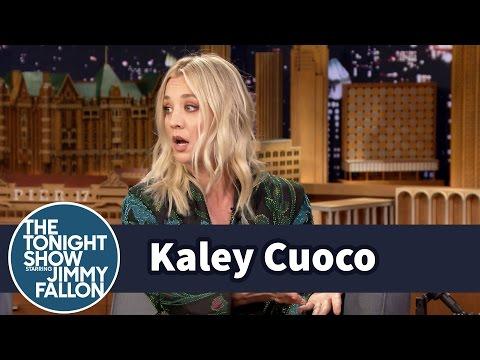 Kaley Cuoco Felt Like a Bachelor Contestant on ...