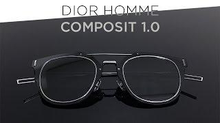 Dior Homme Composit 1.0 Titanium Sunglasses Unboxing