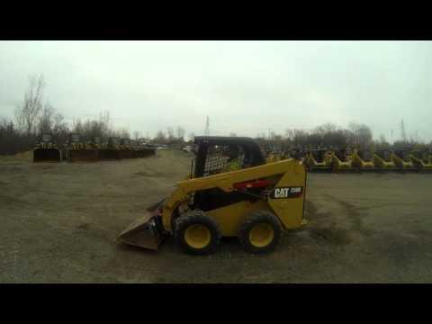 CATERPILLAR SKID STEER LOADERS 236D equipment video kjm4ByPs-TA