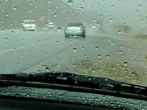 امطار الخير على منطقة مسافي بدولة الامارات 10-09-2009