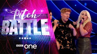 Pitch Battle website: http://bbc.in/2tspn3j The acts take part in themed Riff Off battles.