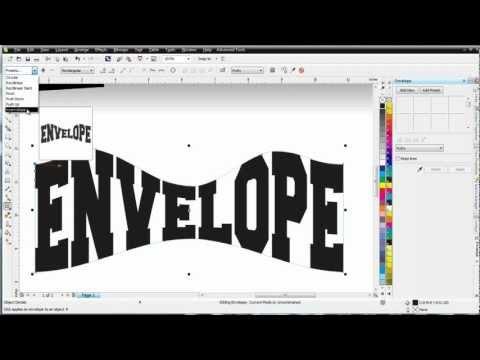 Как сделать фигурный текст