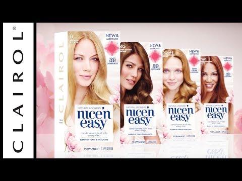 New Formula: Nice 'n Easy Hair Color  Clairol :30