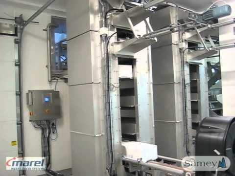 Palletizing solution - New box lift - Sinkaberg