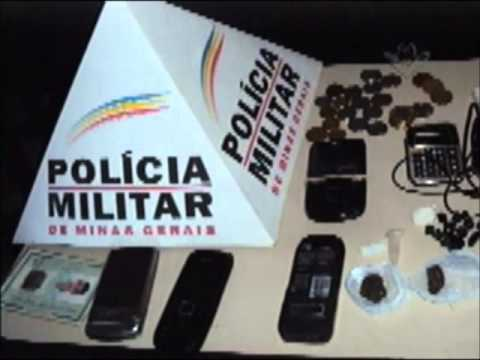 PM prende traficante em Capinópolis