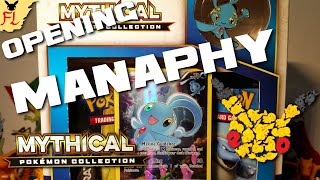 Opening a Pokemon TCG Manaphy Mythical Pokemon Collection Box- EXcellent! by Flammable Lizard