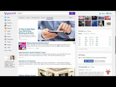 Check Out the Fresh Yahoo Homepage Redesign – Video