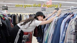 Video nina goes thrift shopping 2! + other things MP3, 3GP, MP4, WEBM, AVI, FLV Desember 2018