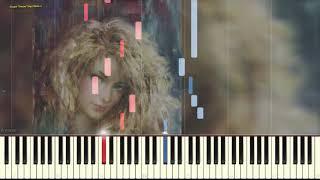 Очарована, околдована... (Ноты и Видеоурок для фортепиано) (piano cover)