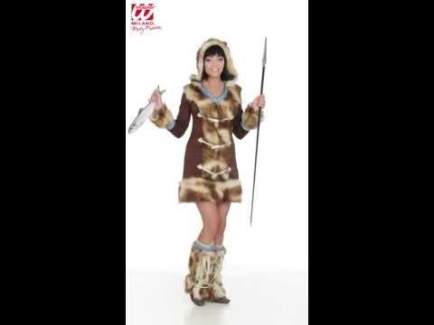 Costume Esquimaude-v29929