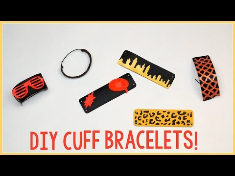 DIY Cuff Bracelets | Sizzix Teen Craft