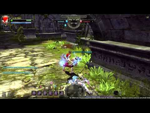 Dragon Nest「2014」- [Lancea] Flurry vs Gladiator