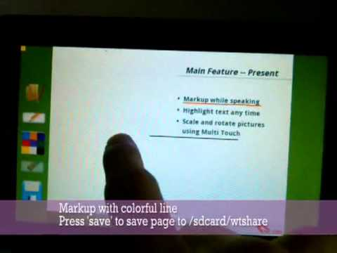 Video of Touchshow Powerpoint Player