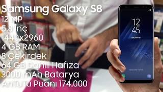 Samsung Galaxy S8 Açıyoruz // S8 Kutu Açılımı ve Ön İnceleme