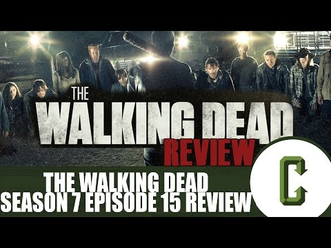 "The Walking Dead Season 7 Episode 15 ""Something They Need"" Review"