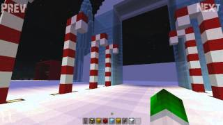 LizzyVille | Minecraft Christmas Village | Ep # 20 'Santa's Grotto..'