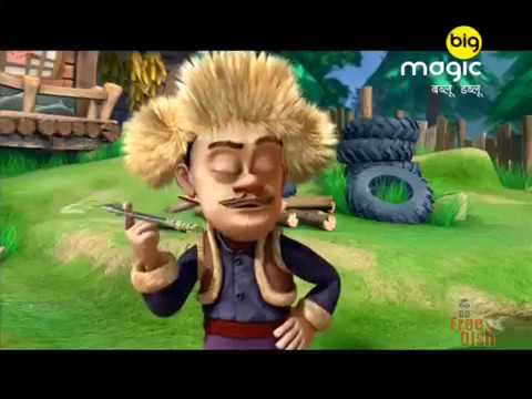 21 Bablu Dablu Hindi Cartoon BIG MAGIC Lakkha Ne Banaya Boomerang Jaisa Hathyar