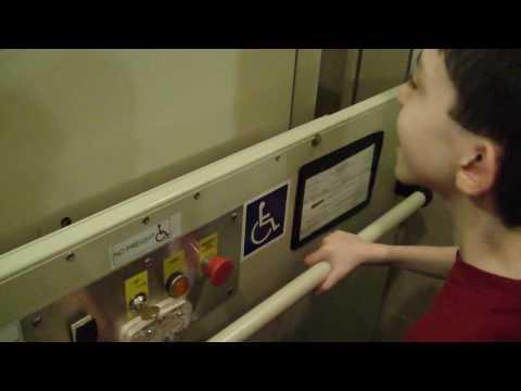 Savaria Concord screw drive wheelchair lift @ Sheraton Hotel Roanoke VA w/ tjelevatorfan