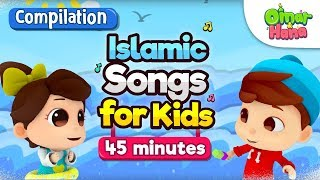Video COMPILATION 45 mins| Giving Sadaqah | Songs, Series + more| Omar & Hana | MP3, 3GP, MP4, WEBM, AVI, FLV Juni 2019