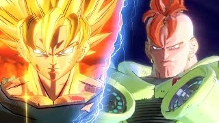 Dragon Ball Xenoverse 2: Watch Goku Crush Android 16 (1080 60fps) by IGN