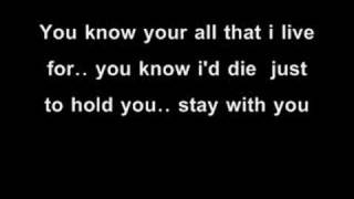 vid of evanescence you.. with the lyrics...