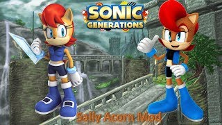 Sonic Generations Mod Part 174_ Sally Acorn Mod