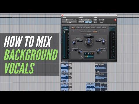 How To Mix Background Vocals - RecordingRevolution.com