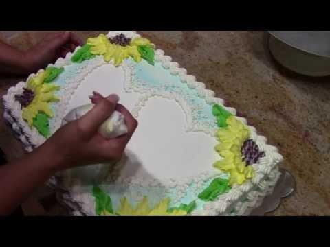 фото тортов из крема