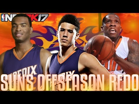 TRADING FOR A STAR! | Re-Doing The Phoenix Suns Offseason! | NBA 2K17 MyLeague