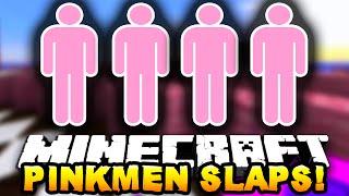 Minecraft PINK MEN SLAPPING EACHOTHER! #1 w/ PrestonPlayz, JeromeASF&Choco