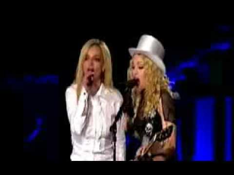 Madonna y Britney juntas en concierto