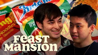 Video Joji and Rich Brian Have an Instant Noodle Battle | Feast Mansion MP3, 3GP, MP4, WEBM, AVI, FLV November 2018