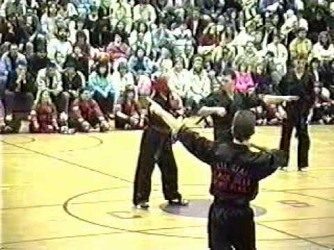 LaVallee's Karate - Black Belt Exam - May 18th, 1990 Part 4