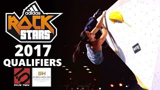 Qualifiers | Adidas Rockstars 2017 by OnBouldering