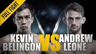 Video ONE: Full Fight | Kevin Belingon vs. Andrew Leone | Spinning Sidekick TKO | April 2018 MP3, 3GP, MP4, WEBM, AVI, FLV Oktober 2018
