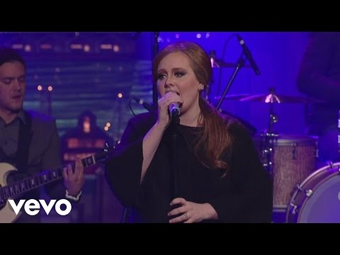 Adele - Rolling In The Deep (Live on Letterman)