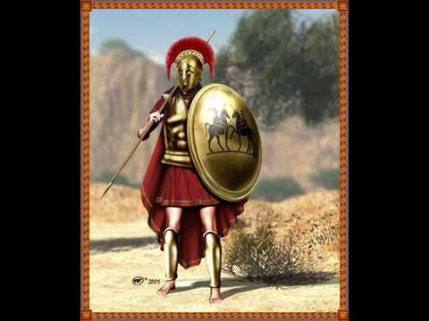 Греческое войско периода греко-перских воен
