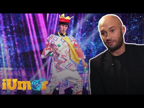 Pipino de România, evoluție artistică pe scena iUmor! Cheloo: Pipino seamănă cu Vanilla Ice!