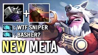 Video NEW BUILD Basher Sniper vs Storm Mid MegaBash + Headshot Epic Rank Gameplay WTF Dota 2 MP3, 3GP, MP4, WEBM, AVI, FLV Juli 2018