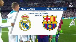 Nonton Real Madrid 2 0 Barcelona   Highlights  Spanish Super Cup 2017  Film Subtitle Indonesia Streaming Movie Download