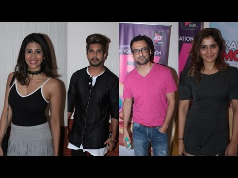 Suyyash Rai | Kishwar Merchant At Special Screening Of Web Series Kar Le Tu Bhi Mohabaat & Dev DD
