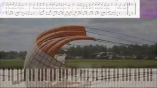 Потому, что мы пилоты... (Ноты и Видеоурок для фортепиано) (piano cover)