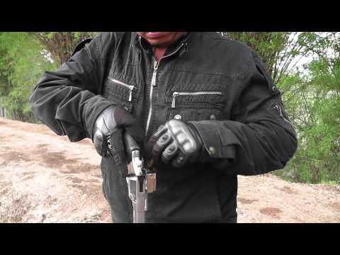 ปืนลูกโม่ - ทดสอบกระสุน .44 แม๊กนั้ม เทารัส 4 นิ้ว.
