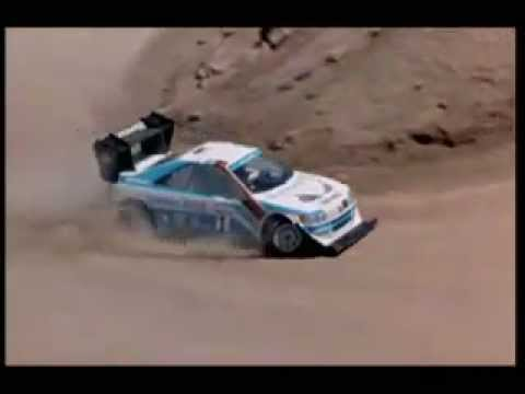 impressionante on board camera rally, ari vatanen al monte pikes peak